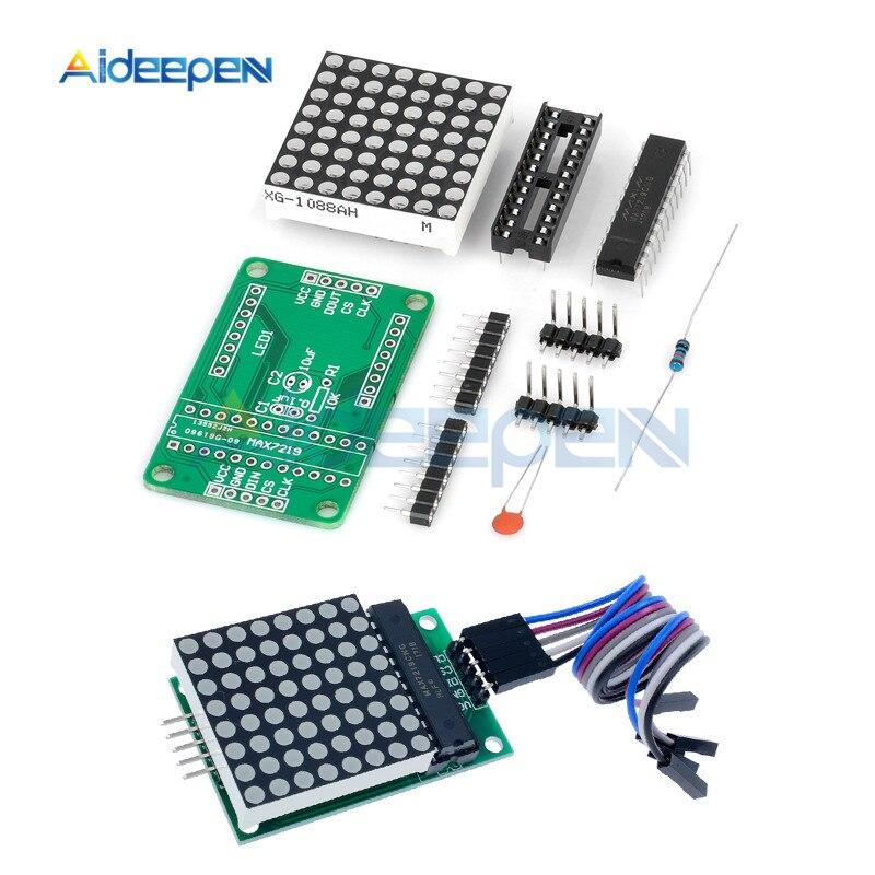MAX7219 Dot Matrix Module Control Display Module SPI Arduino DIY kit BBC