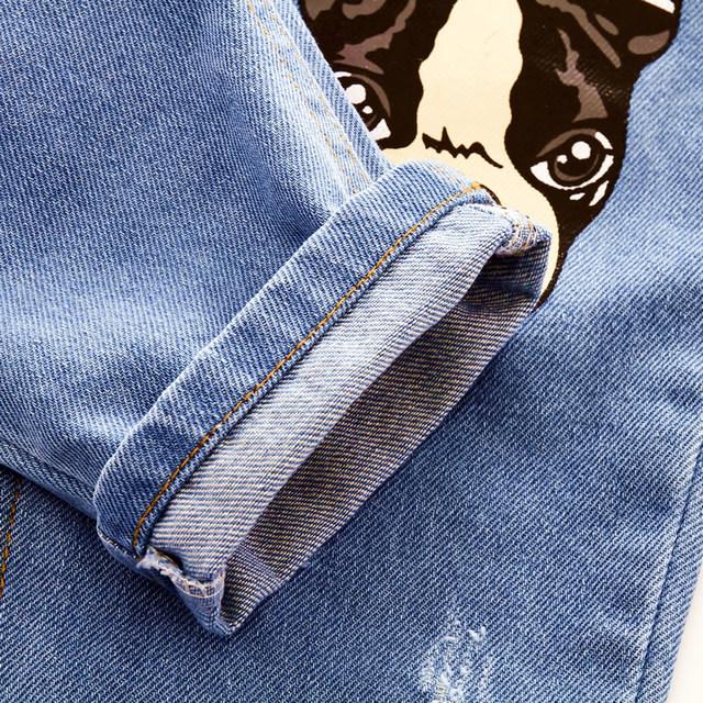 Infant Baby Pants Children Boys Girls Cotton Jeans Kids Denim Harem Trousers Toddler Crawling Soft Leggings Pantalones Spring