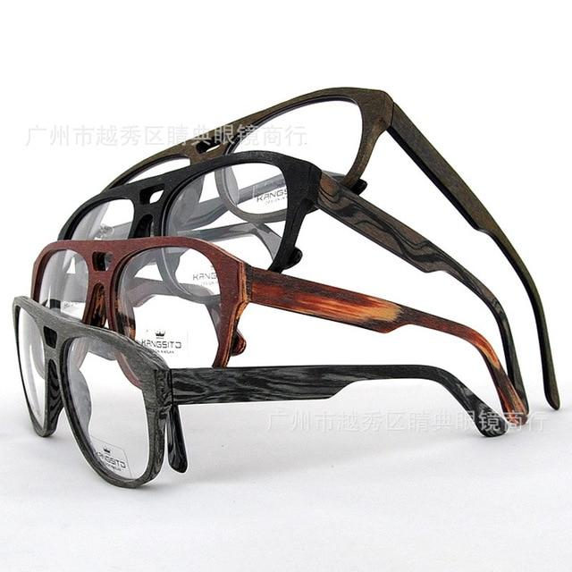 874c780e20 New eyeglasses men brand optical frames eye glasses male acetate wooden  design frame vintage spectacle frames