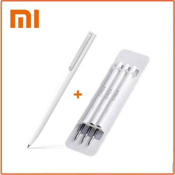 Oryginalny Xiaomi Mijia znak długopisy trwała szkoła papiernicze długopis gładki szwajcarski wkład japonia atrament długopisy czarny wkład tanie i dobre opinie Brak CN (pochodzenie) Xiaomi Mijia Sign Pens