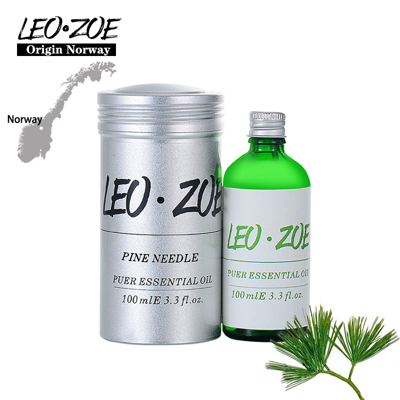 Фотография Well-Known Brand LEOZOE Pine Needle Essential OilCertificate Origin Norway Authentication High Quality Pine Needle Oil 100ML