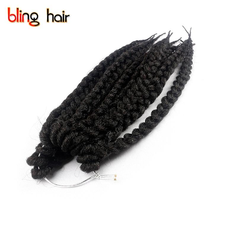 Bling Hair Box Braids Synthetic Hair Extensions 12roots/piece Twist Crochet 3X African Kanakalon Braiding Hair Weaving