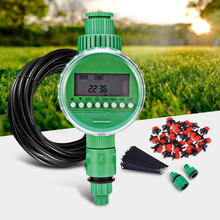 Цифровой таймер для полива сада автоматический электронный таймер для полива воды домашний таймер для полива сада система управления ЖК-дисплеем