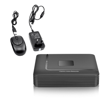 1x Mini 4CH DVR/HVR/NVR HD Video Recorder Security Standalone CCTV IP Camera WiFi Cloud Remote Access With USB Mouse