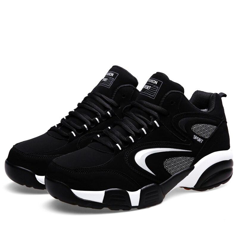 Autumn Winter Men Women Sneakers With Fur Winter Warm Large Size Running Shoes For Men Leather Jogging Sneakers Sport Footwear