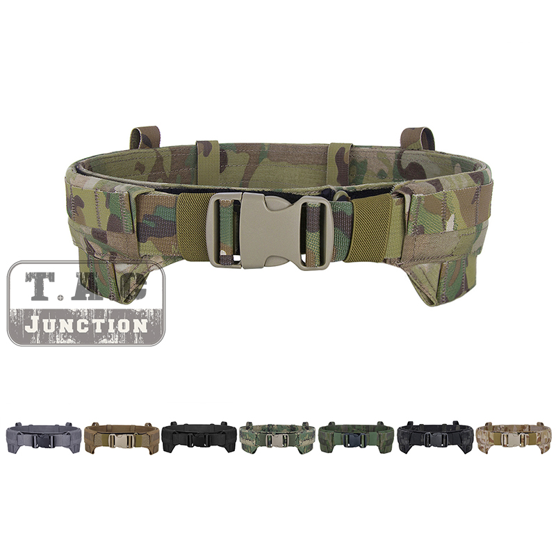 Home Trustful 600d Dragon Military Tactical Molle Clay Belt Durable Canvas Hunting Utility Accessories Terrific Value
