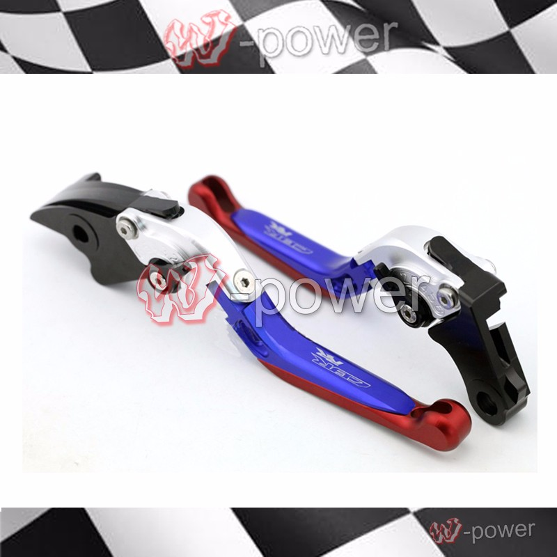 fite For HONDA CBR 1000RR CBR1000RR 2004 2005 2006 2007 Motorcycle Adjustable Foldout Extendable Brake release lever logo CBR RR aftermarket free shipping motorcycle parts brake clutch hand lever for honda cbr1000rr cbr 1000 2004 2005 2006 2007 carbon