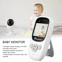 Baby Monitor Security IP Cameras WiFi Wireless Video 2 4GHz Digital LCD Color Melody 2X For