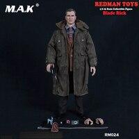 Полный набор фигурку RM024 1/6 масштаб лезвие Рик фигурку игрушки Коллекционная фигурка кукла, подарок для девочки
