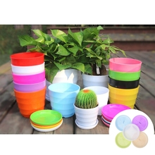 1PC Round Heavy Duty Plastic Flower Plant Pot Saucer Base Water Tray Garden 4 Size For Flower Pot