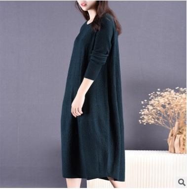 New product launch in the autumn of 2016, the original design loose big yards cotton 30% wool women dresses