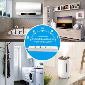 Image 5 - Rdxone Smart Wifi Power Strip wifi plug Sockets 4 USB Port Voice Control Works With Alexas , Google Home Timer