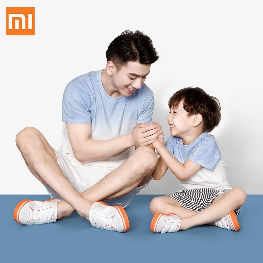 Xiaomi Four сезонная Детская S Детская текстильная обувь удобная мягкая прогулочная обувь резиновая подошва Нескользящая повседневная обувь