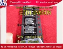 送料無料 10 ピース/ロット STD14NM50N STD14NM50 D14NM50N D14NM50 SOT 252 新オリジナル IC