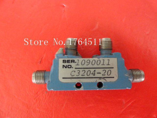 [BELLA] MAC TECHNOLOGY C3204-20 2-4GHz Coup:20dB Supply Coupler SMA