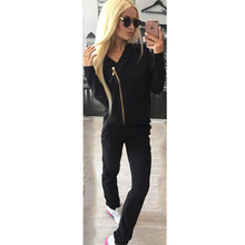 Casual Two Piece Outfit Tracksuit Knitted Winter Suit Set Women Hippie Outfit O Neck Hat Drawstring