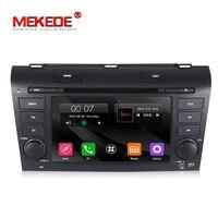 7'' Capacitive screen 2din car DVD radio stereo for MAZDA 3 mazda3 2004 2009 Car radio Stereo With BT Ipod Steering wheel 1080P
