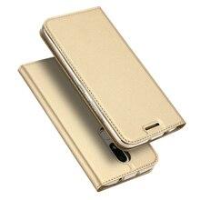Для мото м Case Роскошные искусственная кожа флип чехол для Motorola Moto M XT1662 Книга Стенд держателя карты телефон Сумка Fundas Капа