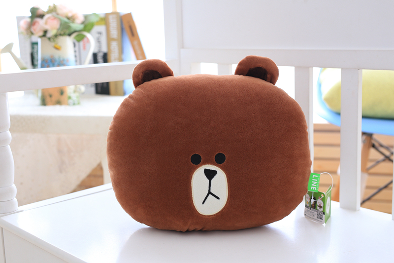 Toys & Hobbies Supply 1pc 30x25cm 6 Patterns Cartoon Animals Car Headrest Brown Bear Rabbit Chick Frog Car Pillows Car Accessories Xmas Birthday Gifts