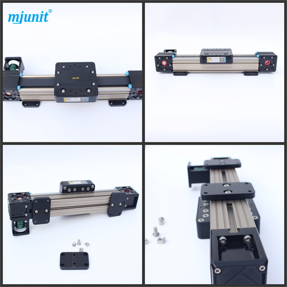 Supply High Precision and Reasonable Price Aluminum Linear Rail rectangle wheel linear rail best price 1002 100 38 41 hand hydraulic carrier polyurethane wheel with aluminum center