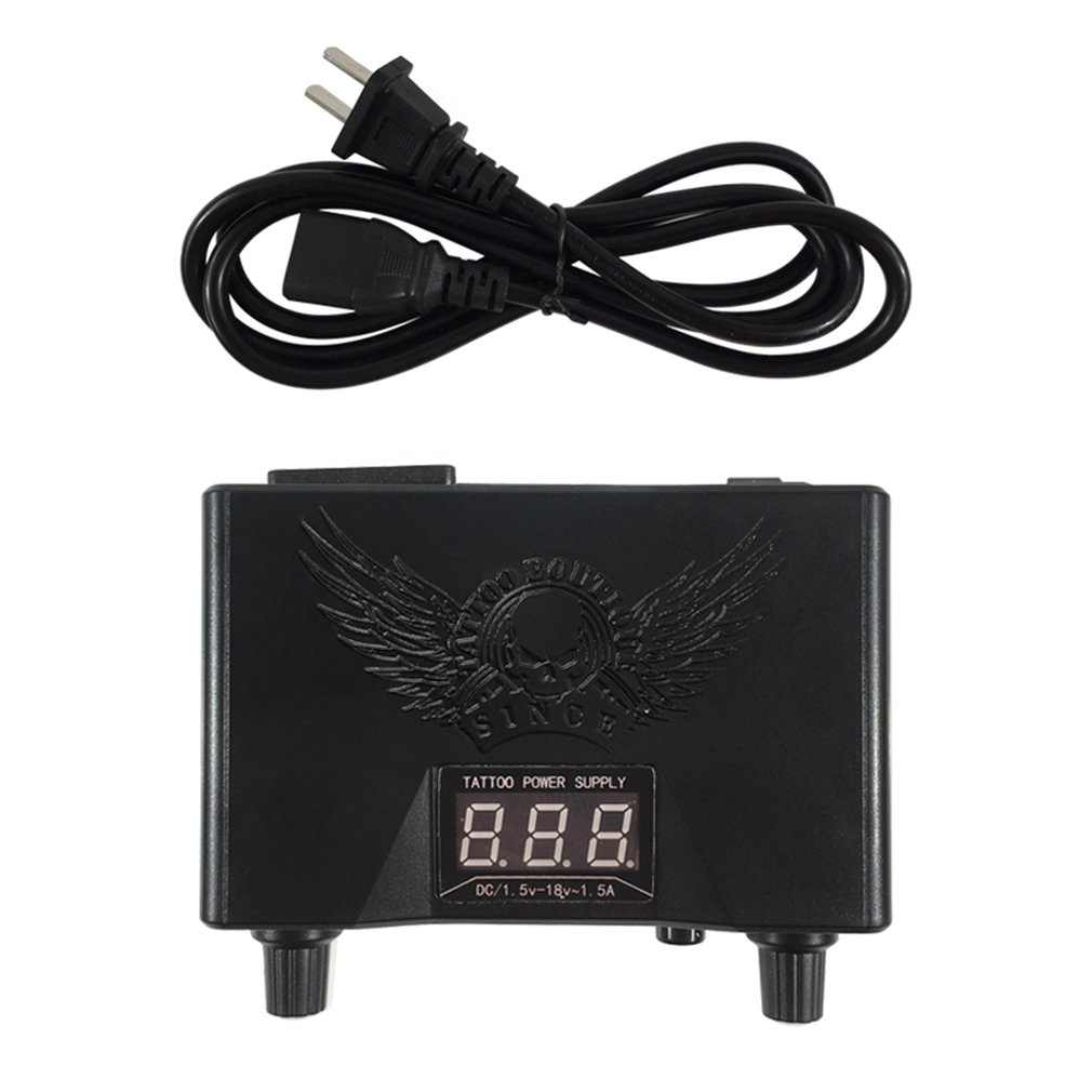 Tattoo Power Supply Voltage Transformer LED Digital Colorful Tattoo Power Unit For Tattoo Machine Supply