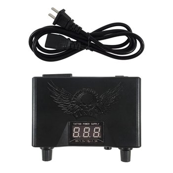 Tattoo Power Supply Voltage Transformer LED Digital Colorful Tattoo Power Unit for Tattoo Machine Supply ez tattoo power supply ipower watch car charger 100