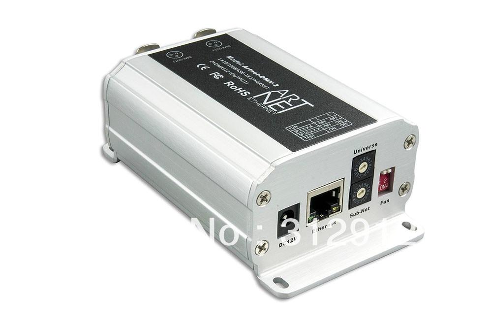 Artnet DMX 2 ArtNet DMX converter ArtNet input DMX 1024 channels output