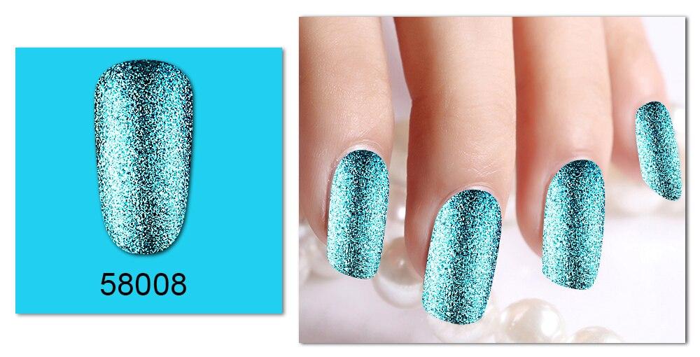 Belen 5pcs Platinum 10ml Super Shining Effect Nail Perfect