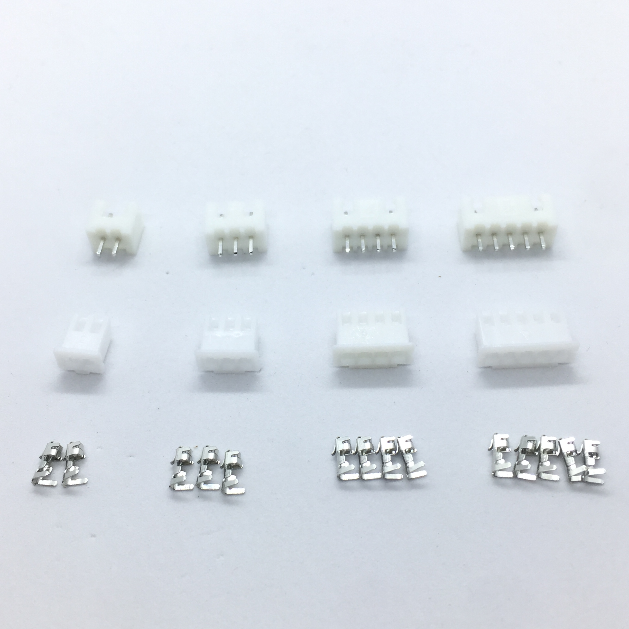 230pcs XH2.54 2p 3p 4p 5 pin 2.54mm Pitch Terminal Kit / Housing / Pin Header Connector Wire Connectors Adaptor XH Kits JST TJC3 1000pcs dupont jumper wire cable housing female pin contor terminal 2 54mm new
