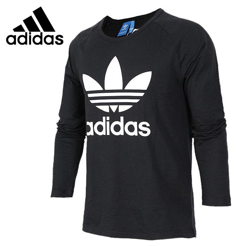 ФОТО Original New Arrival 2017 Adidas Originals Men's T-shirts Long sleeve Sportswear