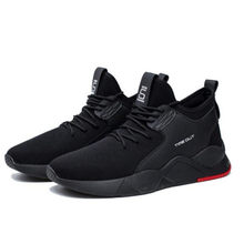 Hot 2020 men's net shoes casual running sports shoes fitness fashion cotton boots Zapatos de hombre(China)