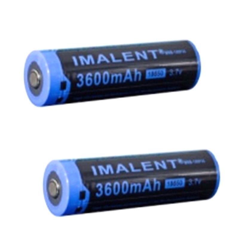 все цены на IMALENT MRB-186P36 18650 3.7V 3600mAh High Performance Li-ion Rechargeable Battery(1 Pair)
