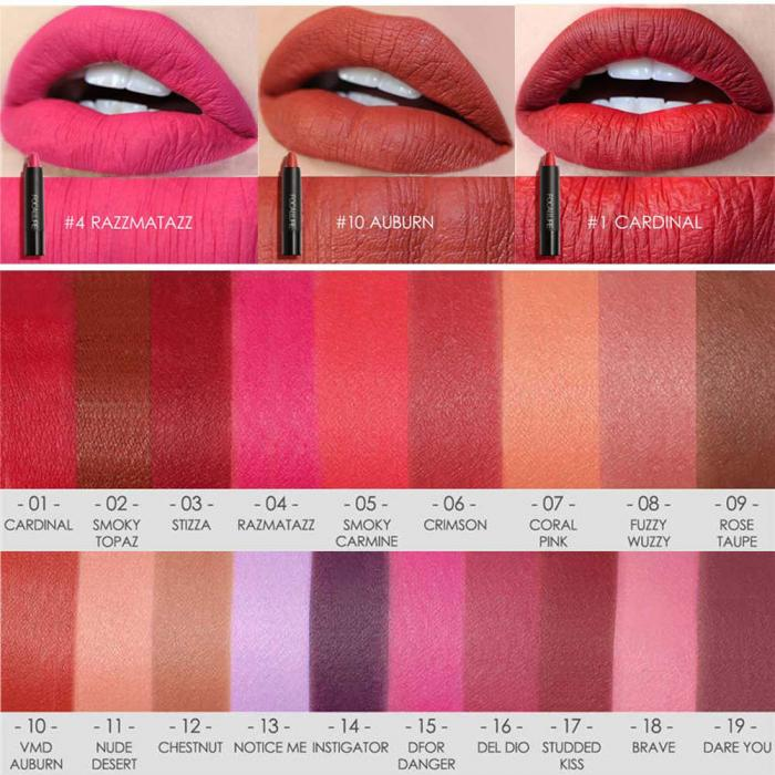 High Quality Focallure Women Matte Lipstick Pen Waterproof Long-lasting Cosmetic Nude Lady Lips Makeup Lipsticks well 5