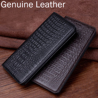 Genuine Leather Flip Case For Oneplus 5T 5 T A5010 Case Back Case Cover For One