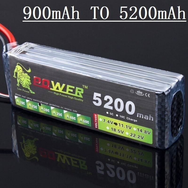 LION POWER <font><b>3s</b></font> battery <font><b>900mAh</b></font> 1500mAh 2200mah 3000mah 4200mah 5200mah 11.1v <font><b>lipo</b></font> battery For RC toy Car Airplane Helicopter Boat image