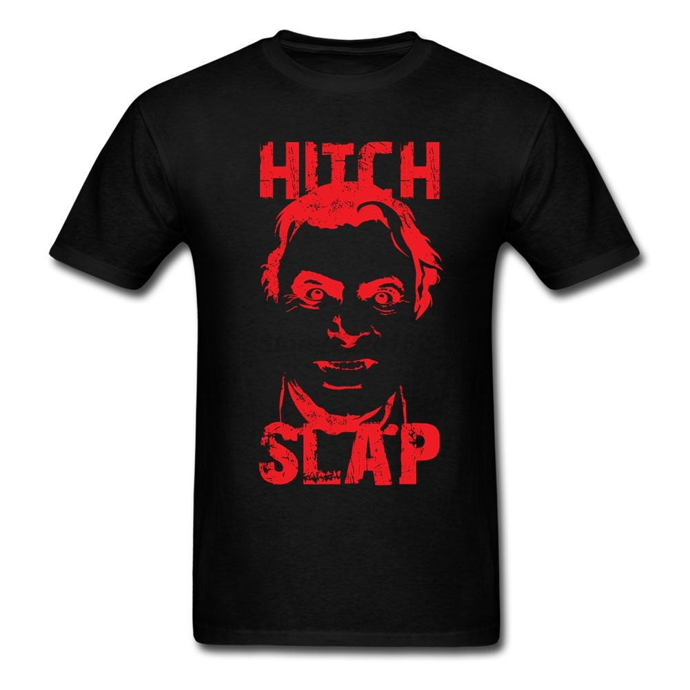 Perfect Mens Hitch Slap T-shirts Hot Selling Shirts Christopher Hitchens 90s Design t shirt O-neck graith For Teenage
