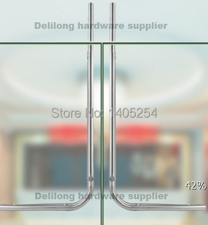 304 Stainless Steel Glass Sliding Door Hardware Door Handle With Lock L  Shape Free Shipping In Door Handles From Home Improvement On Aliexpress.com  ...