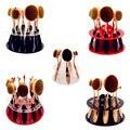 Venta caliente 10 unids Oval cepillo de dientes Cepillo Pinceles de Maquillaje Del Organizador Del Almacenaje Del Soporte de Exhibición de Acrílico Muestra de Acrílico Estante Sólo