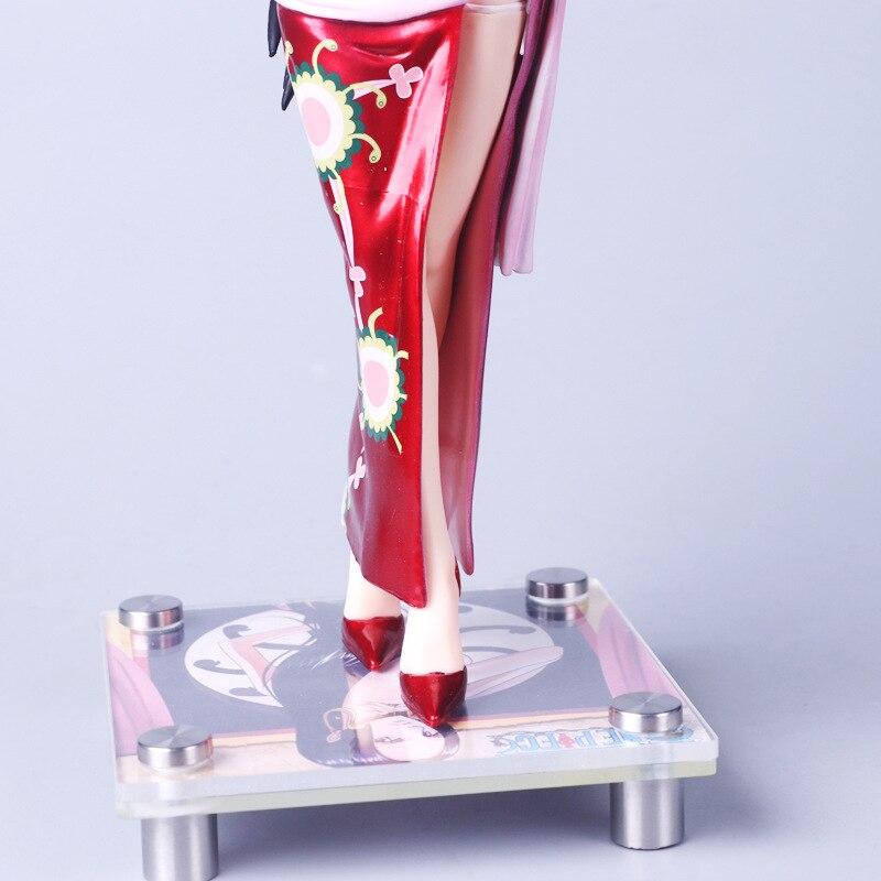 Anime One Piece Boa Hancock PVC Figure New No Box 36cm Red