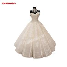 01440 Embroidery Bridal Lace Fabrics Beaded Wedding Dress