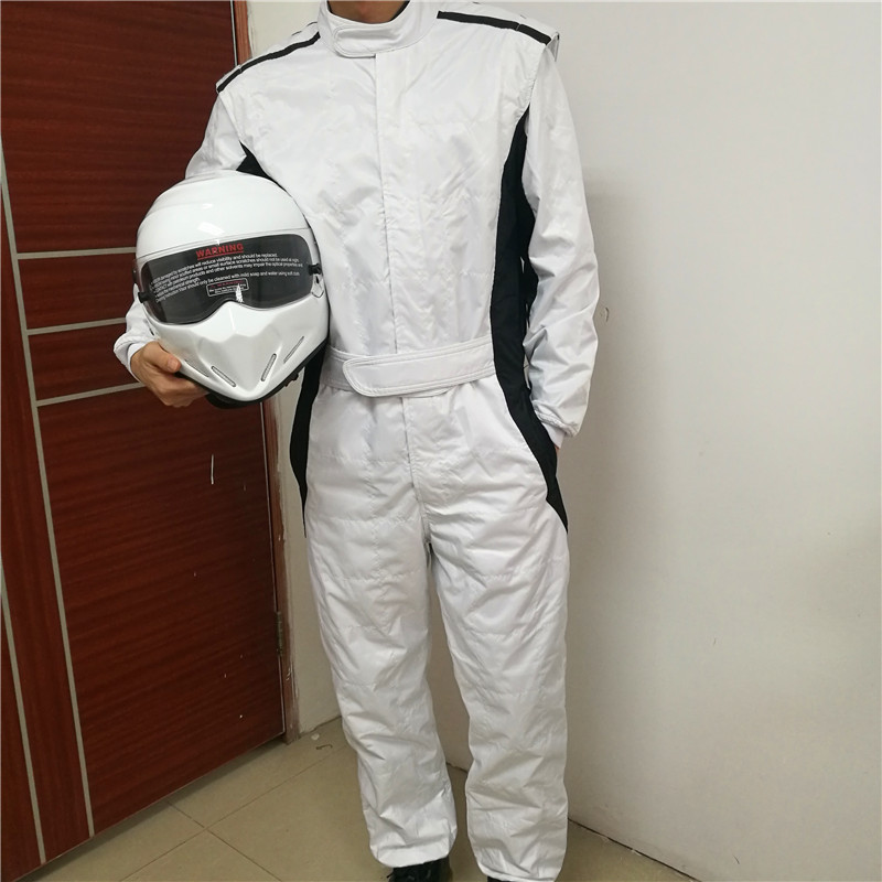High Quality Topgear Karting Suit Two Layer Waterproof Car Motorbike Racing Club Exercise Clothing Overalls The Stig Combination motorbike racing suit children combinaison course automobile kids chaqueta moto mujer baby car karting suit motorcycle suit car