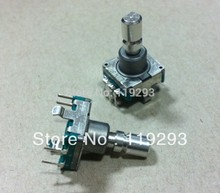 [bellla]Original ALPS Alps EC11 Car 15MM thin shaft encoder 30 is positioned with a switch coding switch–10pcs/lot