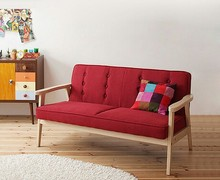 living room sofas living room furniture home furniture solid woodfabric onetwothree seats sofa japanese style hot new