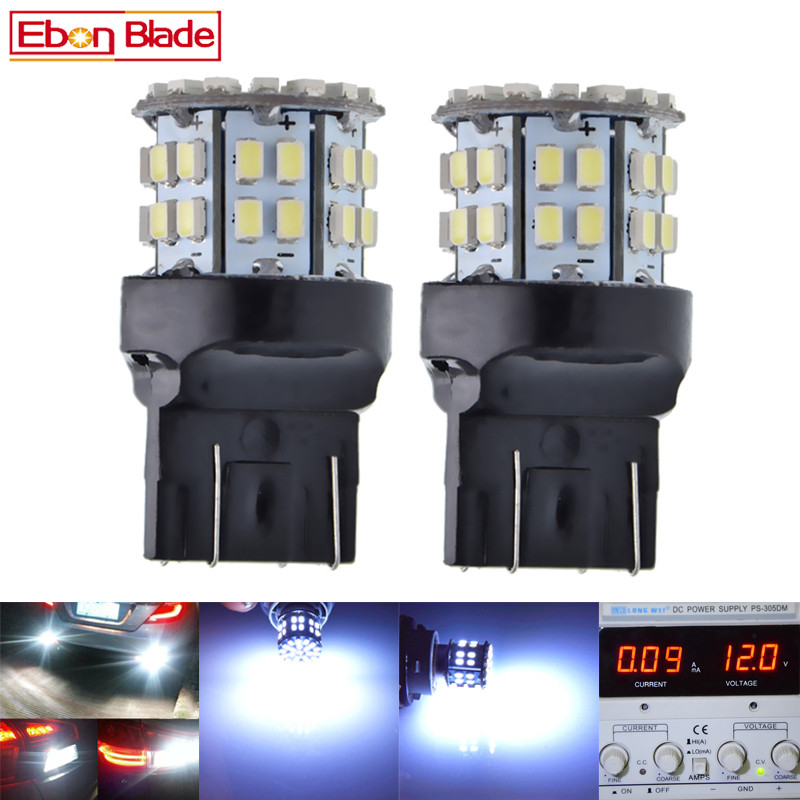 W21 5W Led-Light Automobiles T20 7443 Brake-Turn-Signal Bulb-Lamp 50smd 12V DRL Voiture