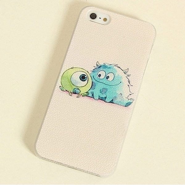 fashion Monsters University Design Cartoon hard back Case Apple iphone 6 plus 6s lovely 3D Cute phone cases - KASONPAI Store store