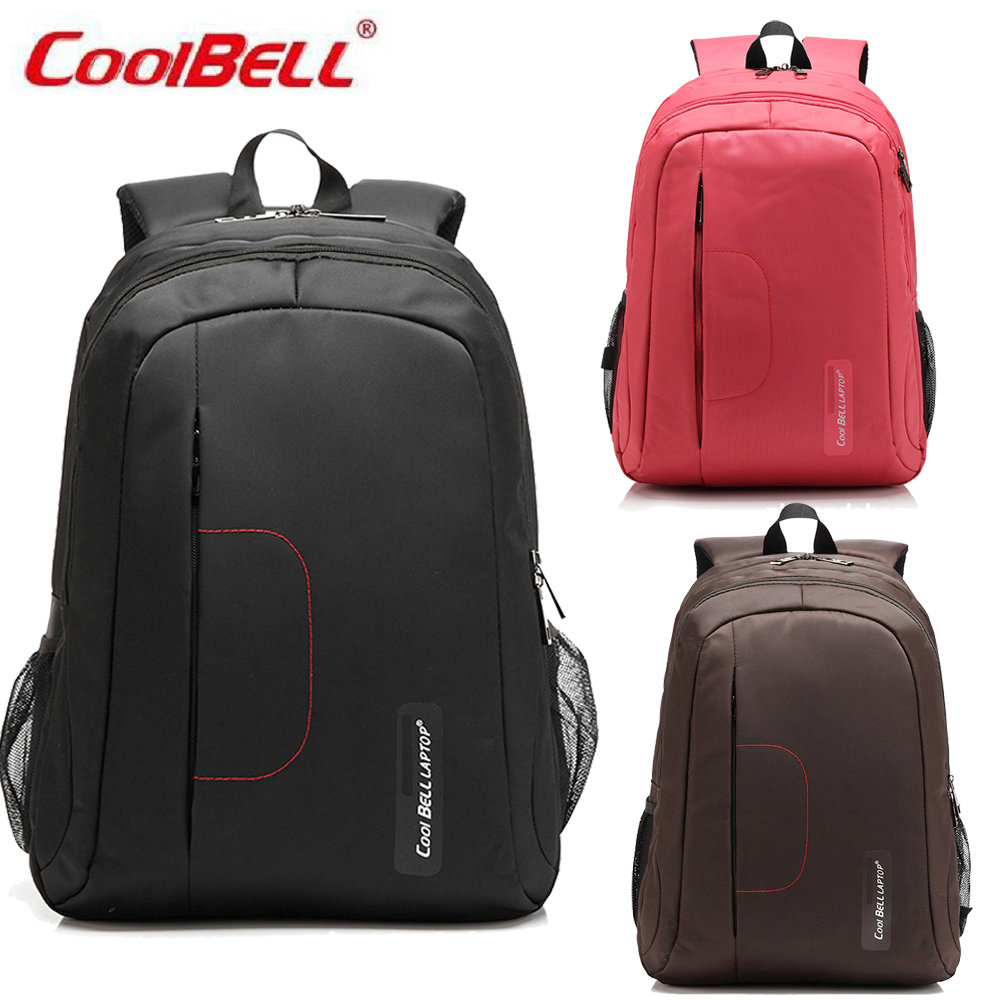 COOLBELL New 2017 Quality Waterproof Nylon Backpack Men 15 inch Laptop Bag Sac A Dos Men Backpacks Travel Backpack-FF