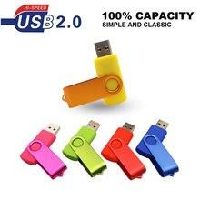 Clé Usb 2.0 métal Flash 4gb 8gb 16gb 32gb Mini clé Usb clé Usb bâton plus de 10 pièces Logo personnalisé gratuit paquet cadeaux de mariage