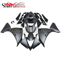Fairings For Yamaha R1 12 13 14 YZF1000 Year 2012 2013 2014 Injection ABS Motorcycle Fairing Kit Bodywork Cowlings Flat Black