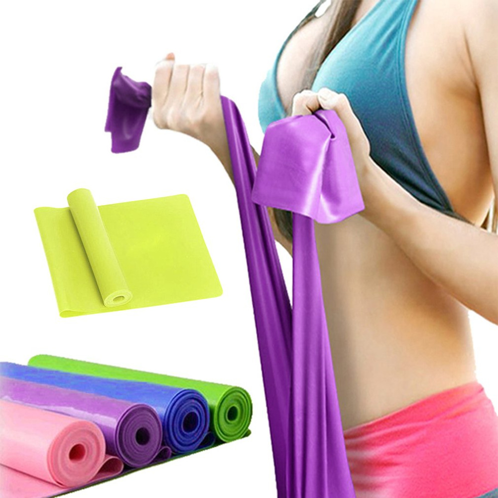 Hearty New Sport Gym Fitness Yoga Equipment Strength Training Elastic Resistance Bands Workout Yoga Rubber Loops Sport Pilates Band A Complete Range Of Specifications