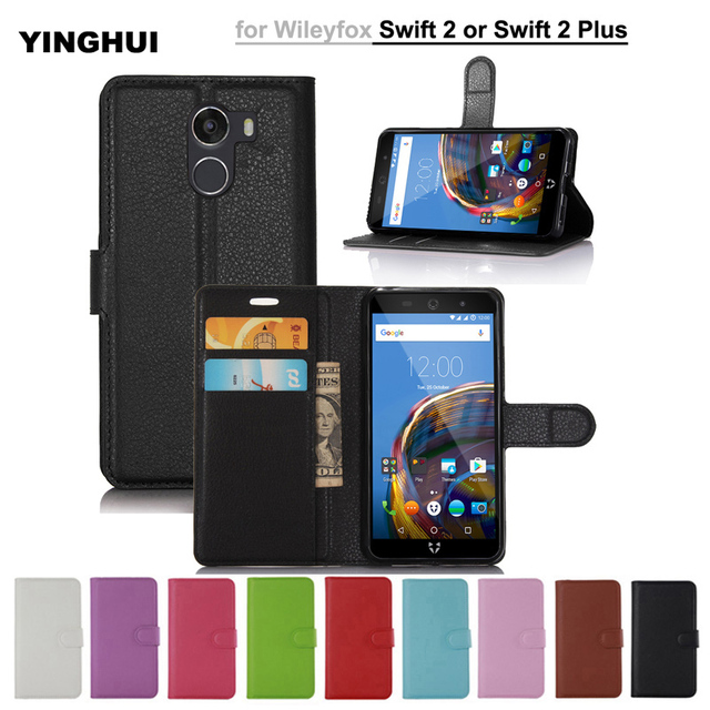 For Wileyfox Swift 2 Capa Luxury Wallet Leather Flip Case For Wileyfox Swift 2 Cover With Card Holder Stand